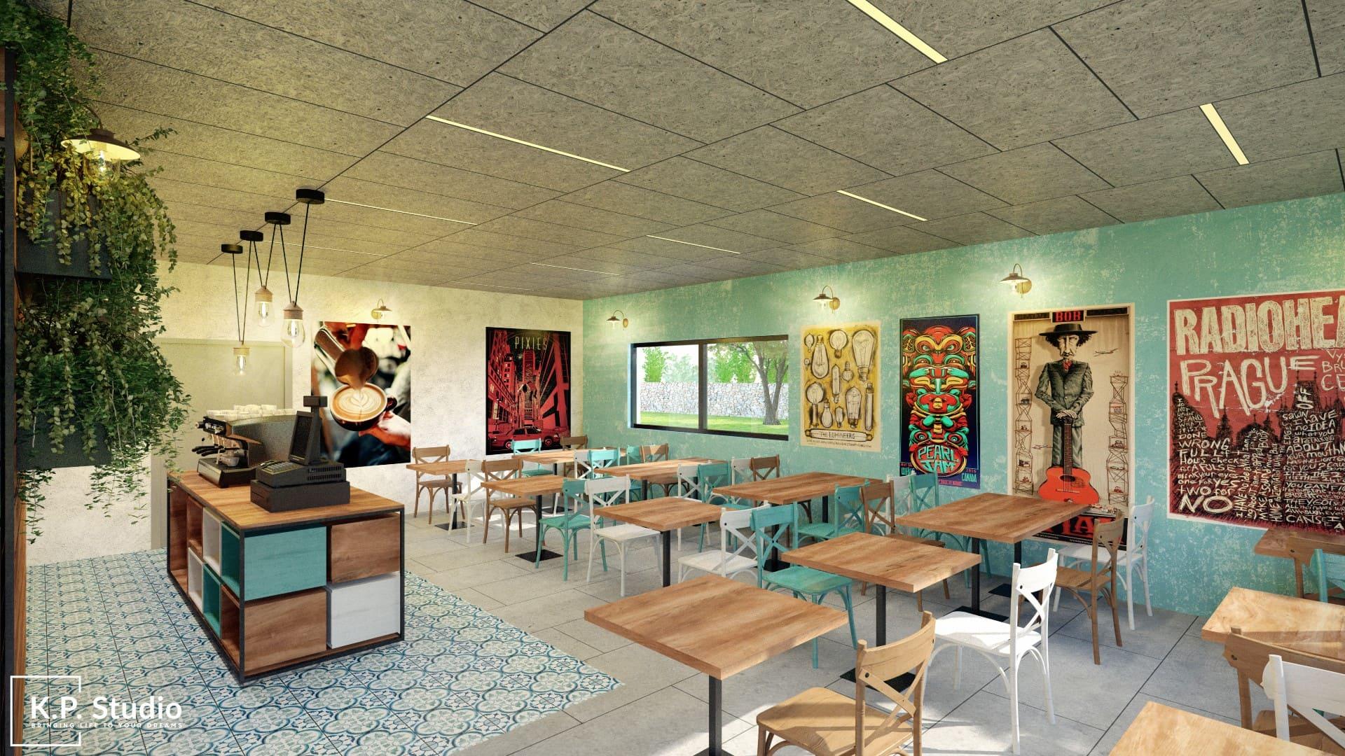 Sami Cohen restaurant - Weizmann Institute of Science